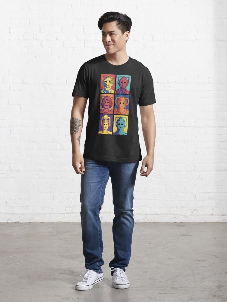 Alternate view of Cyberpop Evolution Essential T-Shirt