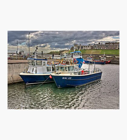 Seahouses Harbour Photographic Print