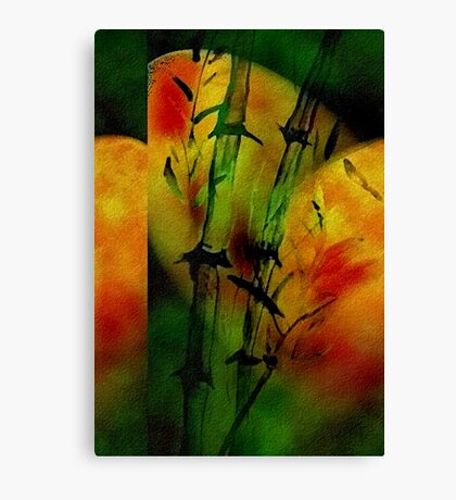 Bamboo Silk  #4   Canvas Print