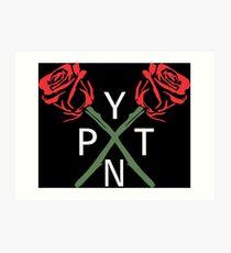 PYTN X ROSE Art Print