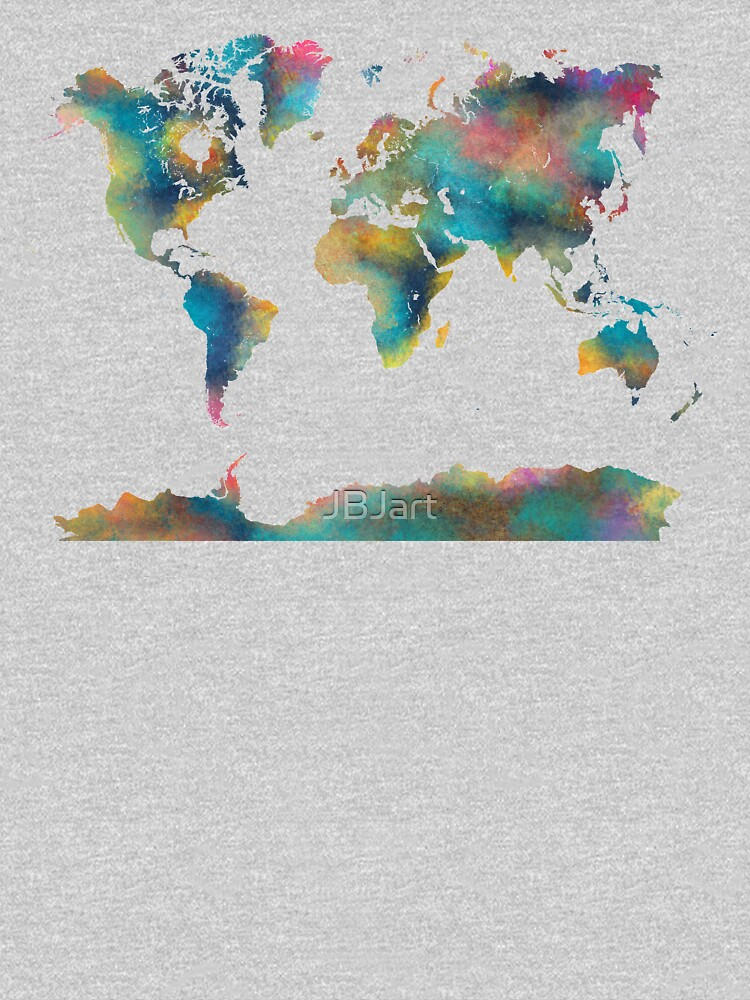 World Map #map #worldmap by JBJart