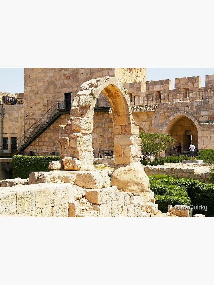 Jerusalem, Israel. Citadel Arch. by UltraQuirky