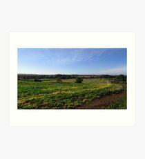 English Landscape Art Print