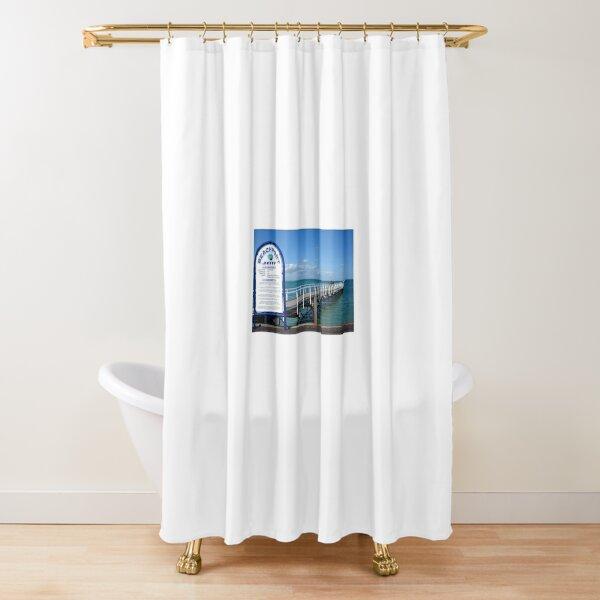 Far Out! Shower Curtain