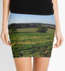 English Landscape Mini Skirt