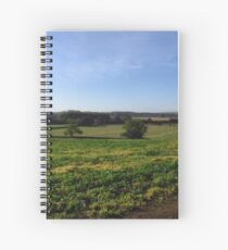 English Landscape Spiral Notebook