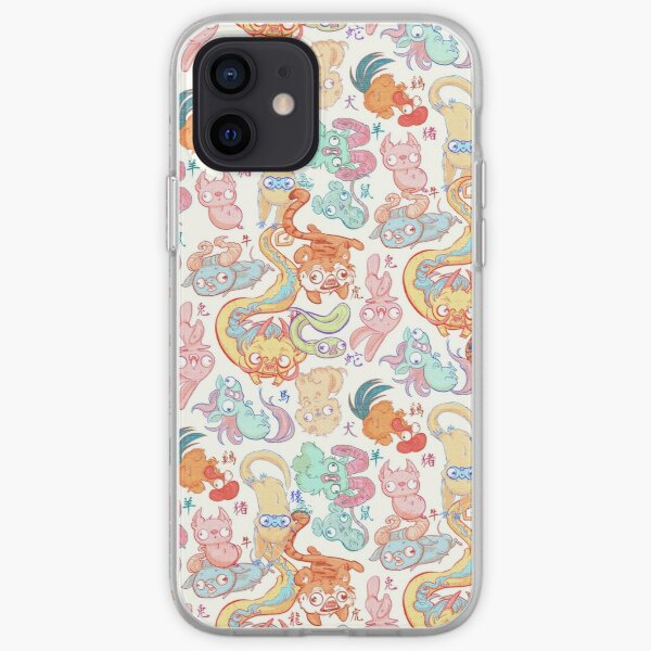 Chinese Animals of the Year iPhone Soft Case