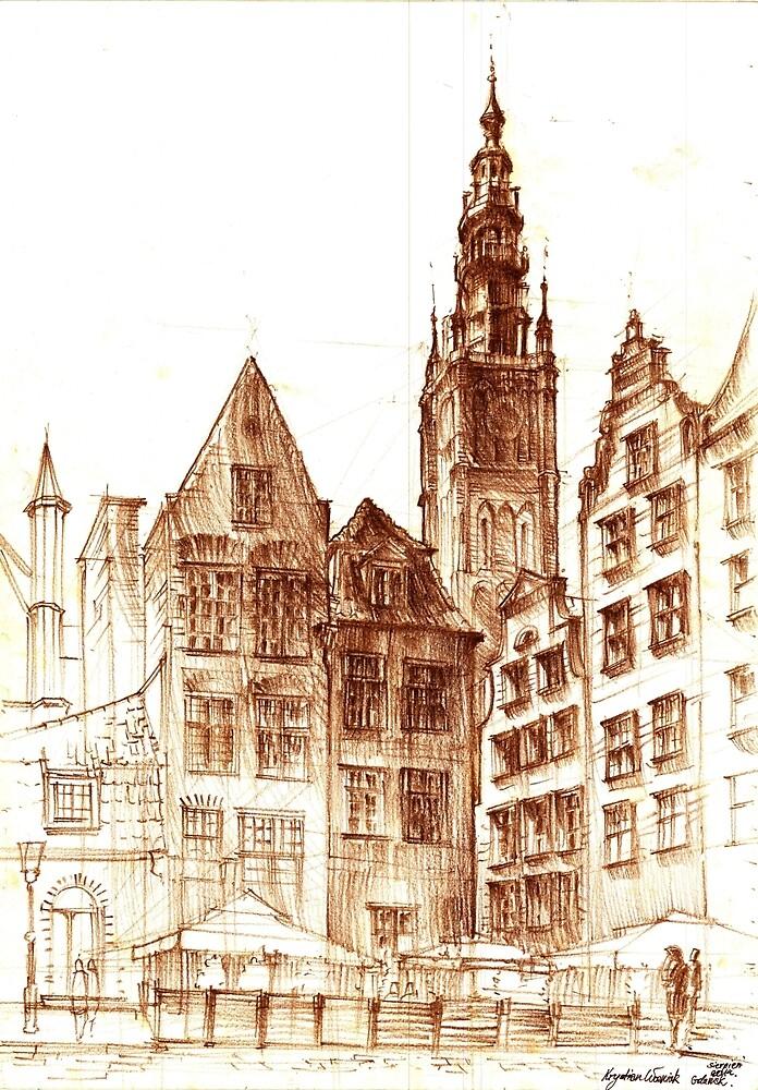 Gdansk Town hall by KrystianWozniak