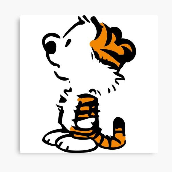 Calvin et Hobbes Bill Watterson Impression sur toile