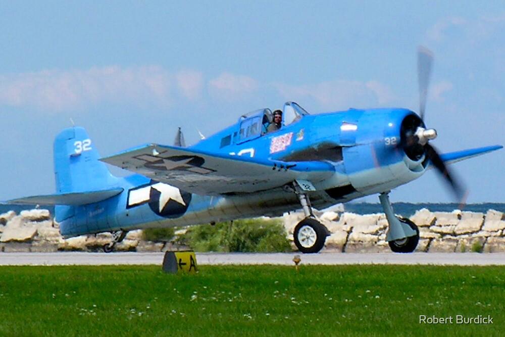 Grumman F6F Hellcat by Robert Burdick