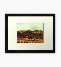 Hammam Heights Framed Print