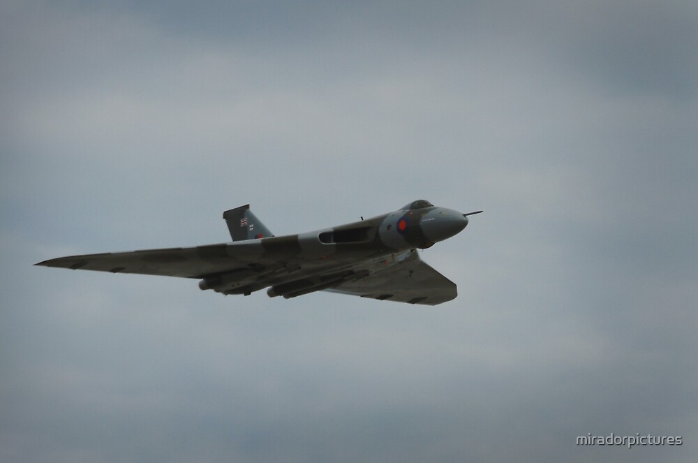 The last of the Avro Vulcan bomber by miradorpictures