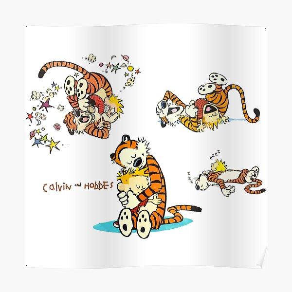 Calvin et Hobbes Bill Watterson Poster