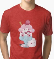 Slurpuff and Swirlix Tri-blend T-Shirt