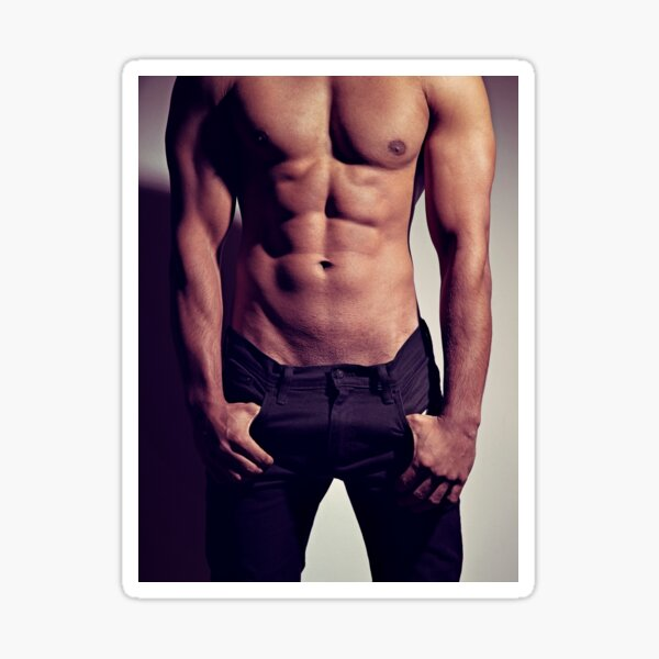 Sexy Male Body #9963 Sticker