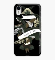 Life finds a way iPhone XR Case