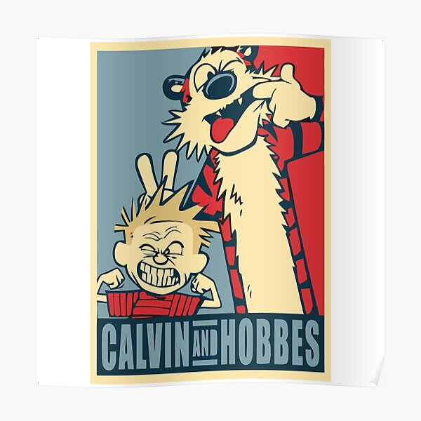 calvin and hobbes bill watterson Poster
