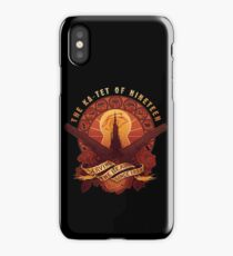 All Things Serve the Beam iPhone Case