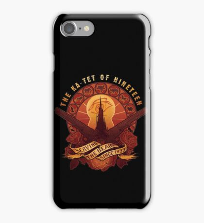 All Things Serve the Beam iPhone Case/Skin