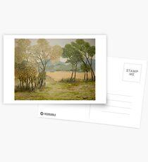 Golden Meadows III Postcards