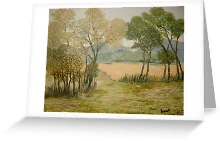Golden Meadows by Phyllis Frameli