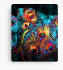 Miss P's Feathers Canvas Print