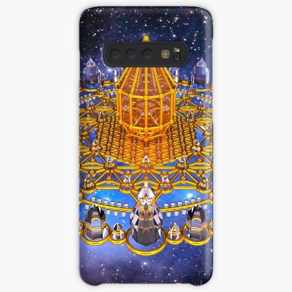 Merkaba Matrix Stargate Grid Samsung Galaxy Snap Case