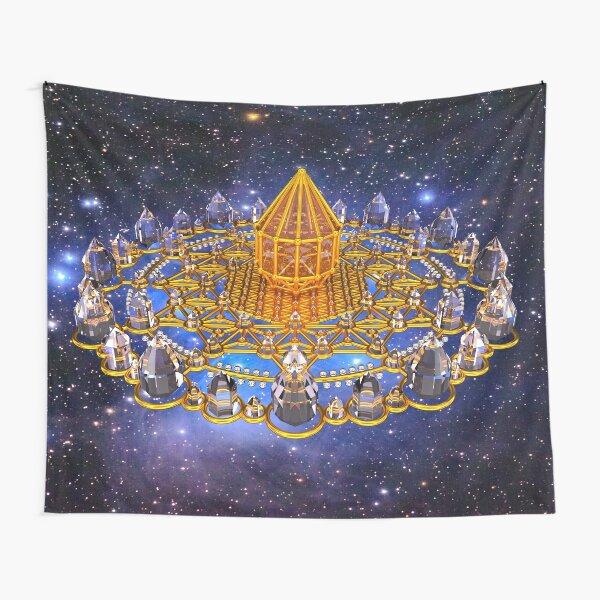 Merkaba Matrix Stargate Grid Tapestry
