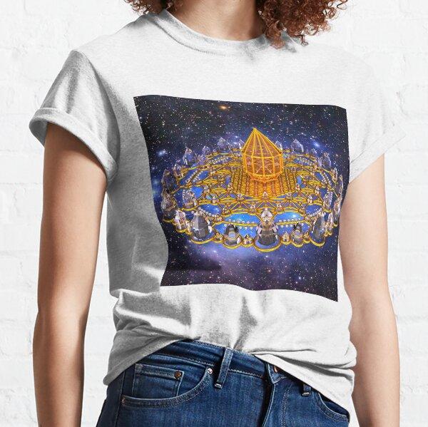 Merkaba Matrix Stargate Grid Classic T-Shirt