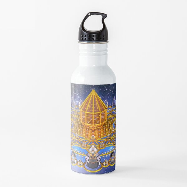 Merkaba Matrix Stargate Grid Water Bottle
