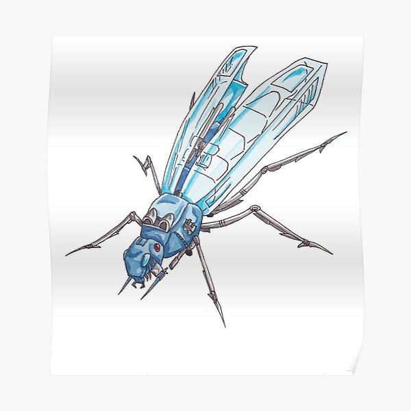 Zoids Locusta Poster