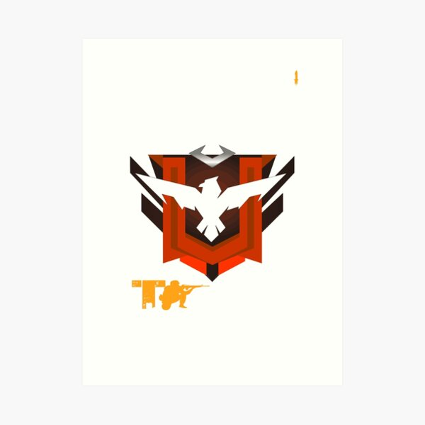 Free Fire Garena Booyah The Best Player Is Your Art Print By Dikamus Redbubble