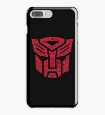 Transformers Autobots Red iPhone 7 Plus Case