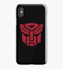 Transformers Autobots Red iPhone Case