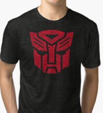 Transformers Autobots Red Tri-blend T-Shirt