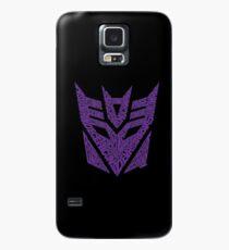 Transformers Decepticons Purple Case/Skin for Samsung Galaxy
