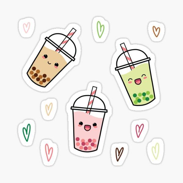 Bubble Tea Trio - Sticker Set Sticker