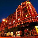 London Harrods Luxury Lights by DavidGutierrez