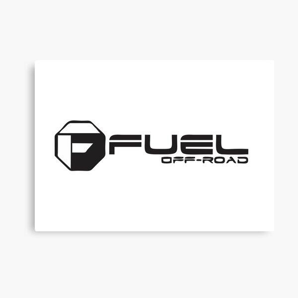 White Fuel Wheels Canvas Print