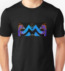 Blue and Gold Dragon Tee Unisex T-Shirt