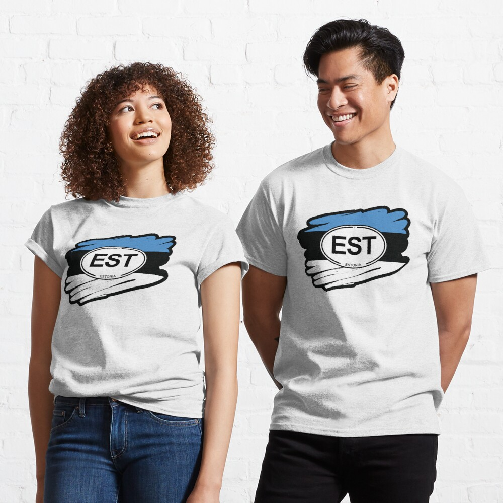 Estonia, Estonian Flag Classic T-Shirt