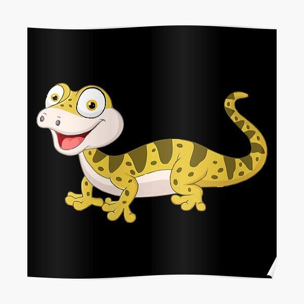 Best Selling Leopard Gecko Merchandise Poster