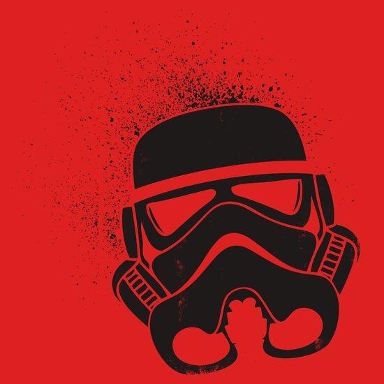 TShirtGifter presents: Stormtrooper Grunge