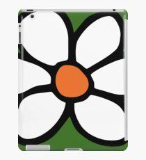 Hippie flower cartoon iPad Case/Skin