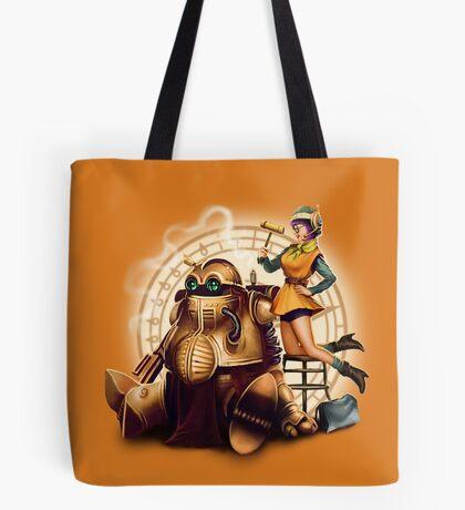 Lucca & Robo Tote Bag