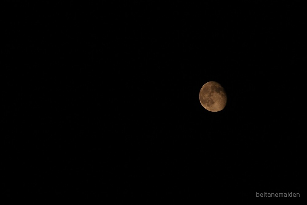 Waning Gibbous by beltanemaiden