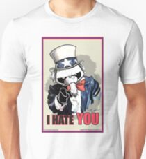 Pissed OFF Panda Uncle Sam T-Shirt