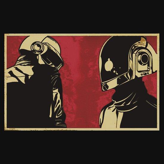 TShirtGifter presents: Daft Punk Propaganda