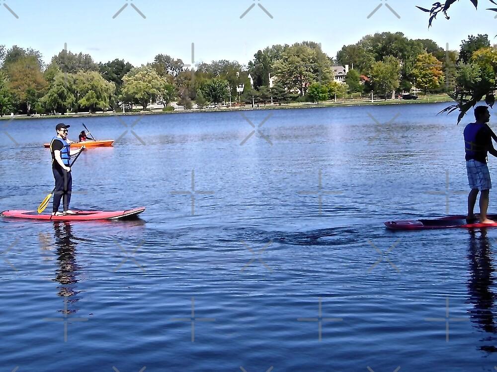 Having fun on Dow's Lake, Ottawa, ON Canada by Shulie1