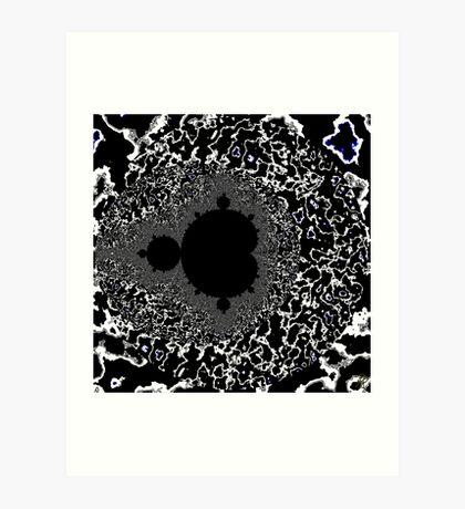 Untitled XIX - White Art Print
